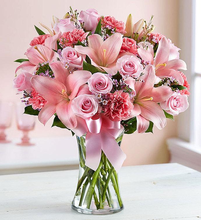 Heather \u0026 Vine Fine Floral Design & Express in Pink
